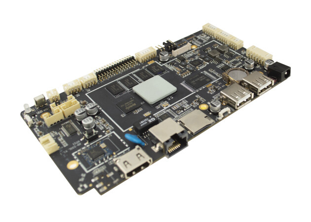 High Performance Embedded CPU Motherboard RK3188 1.6Ghz TF Card USB Host RJ45 Interface